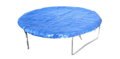 Safety cover for trampoline