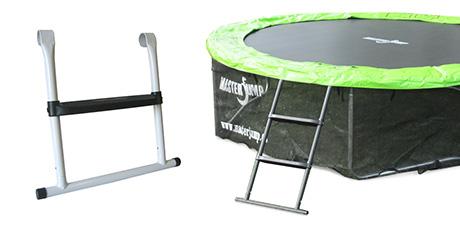 Ladder for trampoline