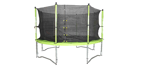 Safety net for trampoline